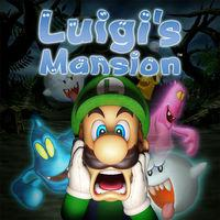 Portada oficial de Luigi's Mansion para Nintendo 3DS
