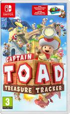 Portada oficial de de Captain Toad: Treasure Tracker para Switch