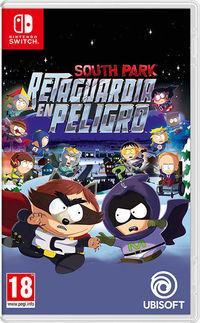 Portada oficial de South Park: Retaguardia en Peligro para Switch