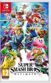 Portada oficial de Super Smash Bros. Ultimate para Switch