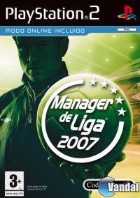 Portada oficial de Manager de Liga 2007 para PS2
