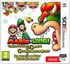 Portada oficial de de Mario & Luigi: Viaje al centro de Bowser + Las peripecias de Bowsy para Nintendo 3DS