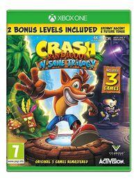 Portada oficial de Crash Bandicoot N. Sane Trilogy para Xbox One