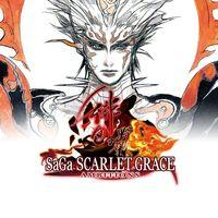 Portada oficial de SaGa Scarlet Grace Ambitions para PS4
