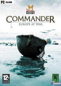 Portada oficial de MILITARY HISTORY Commander: Europe at War - Edición 2008 para PC