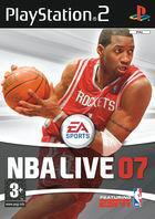 Portada oficial de de NBA Live 07 para PS2