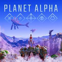 Portada oficial de Planet Alpha para PS4