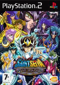 Portada oficial de Los Caballeros del Zodiaco: Hades para PS2