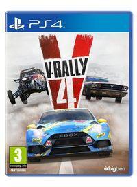 Portada oficial de V-Rally 4 para PS4