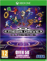 Portada oficial de Sega Mega Drive Classics para Xbox One