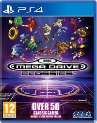 Portada oficial de Sega Mega Drive Classics para PS4