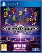 Portada oficial de de Sega Mega Drive Classics para PS4