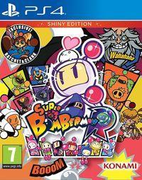Portada oficial de Super Bomberman R para PS4