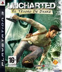 Portada oficial de Uncharted: Drake's Fortune para PS3