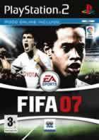 Portada oficial de de FIFA 07 para PS2