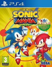 Portada oficial de Sonic Mania Plus para PS4