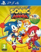 Portada oficial de de Sonic Mania Plus para PS4