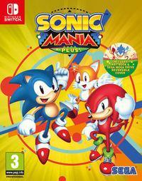 Portada oficial de Sonic Mania Plus para Switch