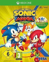 Portada oficial de Sonic Mania Plus para Xbox One