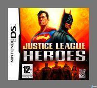 Portada oficial de Justice League Heroes para NDS