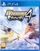 Portada oficial de de Warriors Orochi 4 para PS4