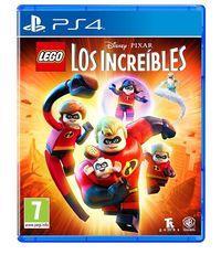 Portada oficial de LEGO Los Increíbles para PS4