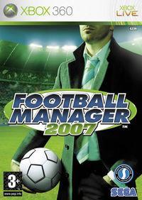 Portada oficial de Football Manager 2007 para Xbox 360