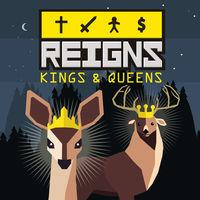 Portada oficial de Reigns: Kings & Queens para Switch