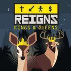 Portada oficial de de Reigns: Kings & Queens para Switch