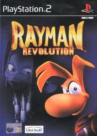 Portada oficial de Rayman Revolution para PS2