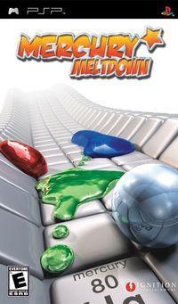 Portada oficial de Mercury Meltdown para PSP