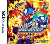 Portada oficial de Mega Man Star Force para NDS