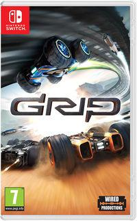 Portada oficial de GRIP: Combat Racing para Switch