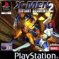 Portada oficial de X-Men: Mutant Academy 2 para PS One
