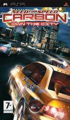Portada oficial de de Need for Speed Carbono Domina la Ciudad para PSP