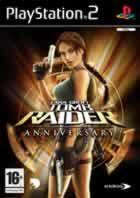 Portada oficial de de Tomb Raider Anniversary Edition para PS2