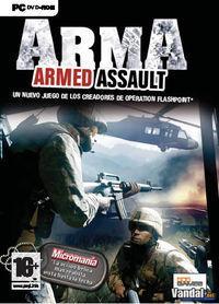 Portada oficial de ArmA Armed Assault para PC