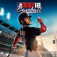 Portada oficial de R.B.I. Baseball 18 para PS4