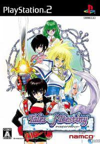 Portada oficial de Tales of Destiny para PS2