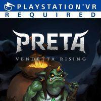 Portada oficial de Preta: Vendetta Rising para PS4