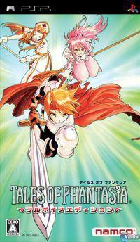 Portada oficial de Tales of Phantasia para PSP