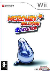 Portada oficial de Mercury Meltdown Revolution para Wii