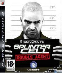 Portada oficial de Splinter Cell: Double Agent para PS3