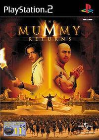Portada oficial de The Mummy Returns para PS2