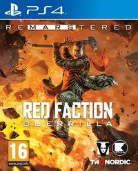Portada oficial de Red Faction Guerrilla Re-Mars-tered para PS4