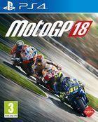 Portada oficial de de MotoGP 18 para PS4
