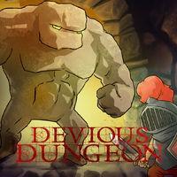 Portada oficial de Devious Dungeon para Switch