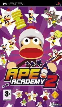 Portada oficial de Ape Academy 2 para PSP
