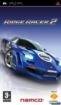 Portada oficial de Ridge Racer 2 para PSP