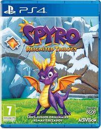 Portada oficial de Spyro Reignited Trilogy para PS4